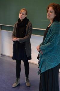 Lilian Friese und Jacqualine Burk (v.l.n.r.). Foto: Anne-Katrin Bicher