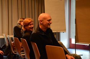 Die Initiatoren und Betreuer der Praxisprojekte: Thomas Egelkamp und Ruth Gilberger. Foto: Anne-Katrin Bicher