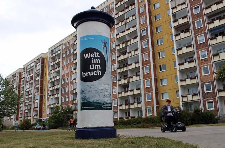 Unterwegs in Rostock Groß Klein. Foto: Teresa Grünhage