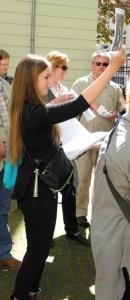 Nora Reul bei den Borsig VIPs in Aktion, Foto: Florenz-Reul