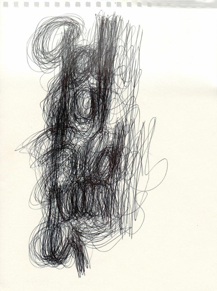 Eine Zeichnung von Martin Gehri in Erinnerung an das Projekt Mitmachstadt.